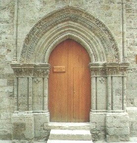 the door of S. Tommaso church